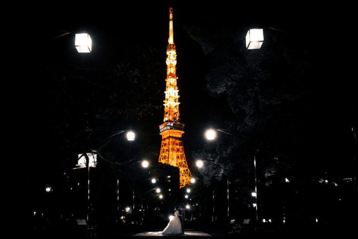 東京タワー 前撮り
