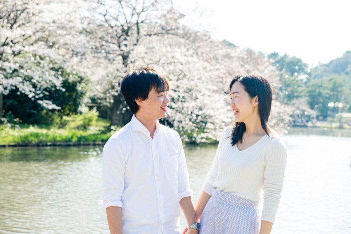 三渓園 桜ロケーション