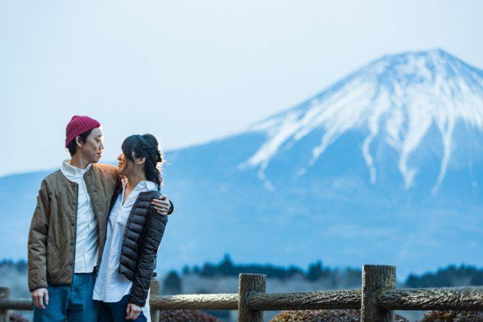 富士山前撮り